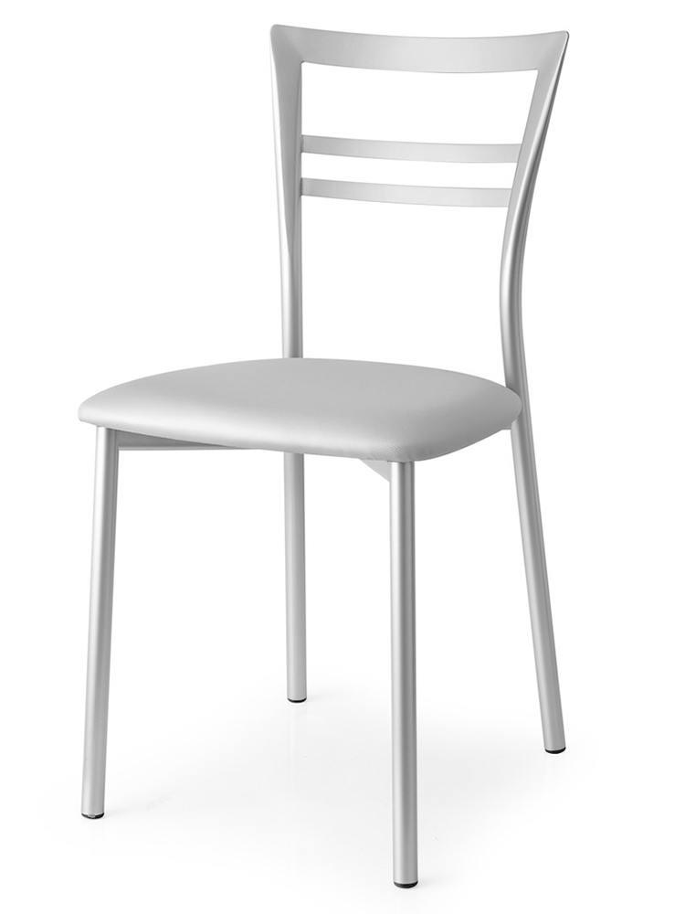 Maspero mobili for Sedie da cucina in acciaio satinato